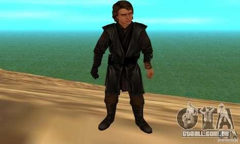 Anakin Skywalker para GTA San Andreas terceira tela