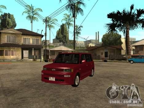 Toyota BB para GTA San Andreas