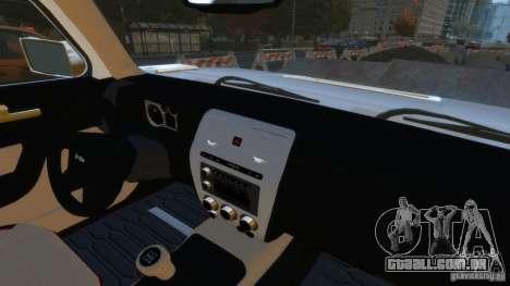 Hummer H3 2005 Gold Final para GTA 4 vista direita