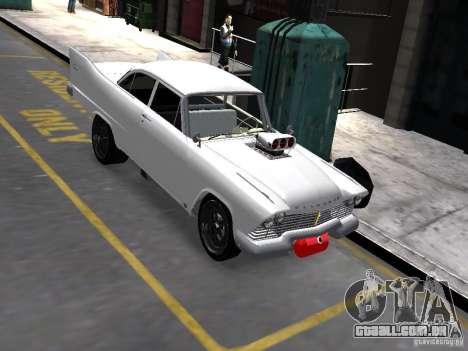 Plymouth Savoy 57 para GTA 4 rodas