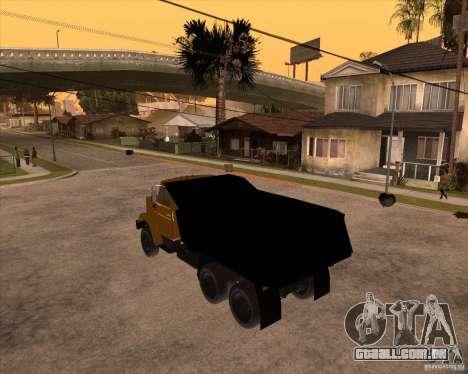 ZIL MMZ 4516 para GTA San Andreas esquerda vista