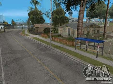 Novo ponto de ônibus para GTA San Andreas