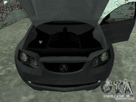 Holden Calais para GTA San Andreas vista direita