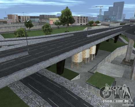 Novas estradas para GTA San Andreas quinto tela