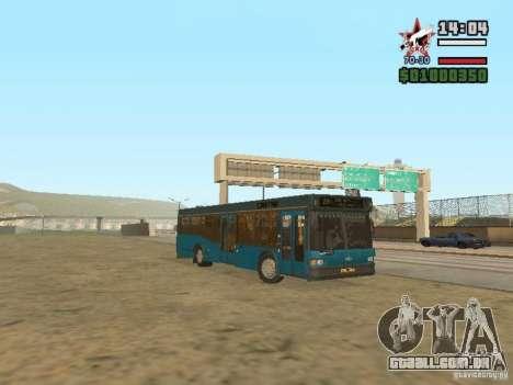 Maz-103S para GTA San Andreas esquerda vista