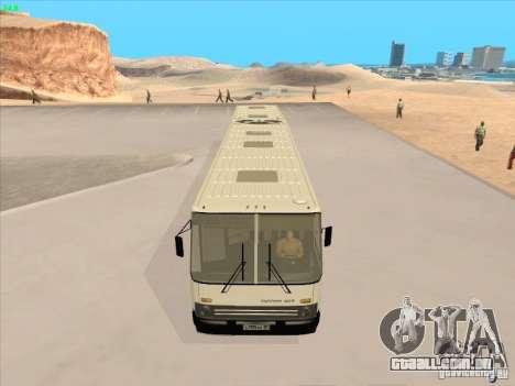 IKARUS 280.03 para GTA San Andreas vista traseira