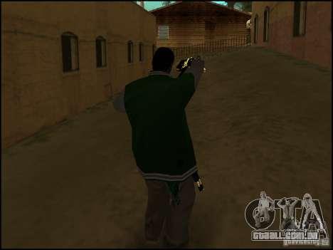 Arma na mão para GTA San Andreas segunda tela