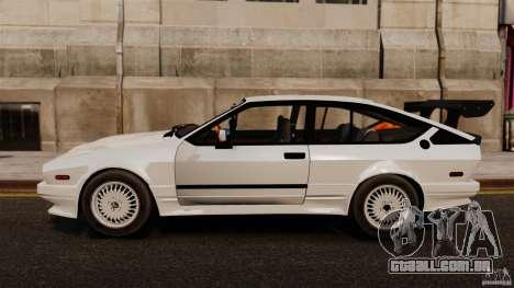 Alfa Romeo GTV6 1986 para GTA 4 esquerda vista