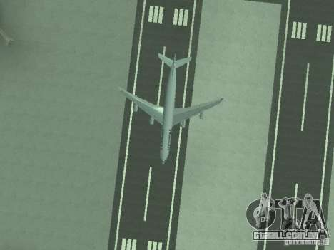 Airbus A340-300 Air France para vista lateral GTA San Andreas