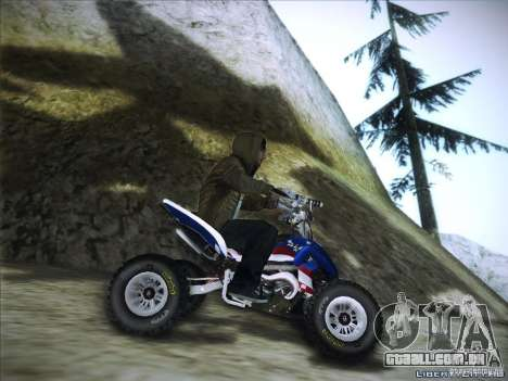 Bike Pure para GTA San Andreas vista traseira