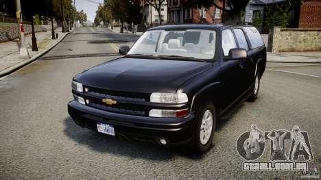 Chevrolet Suburban Z-71 2003 para GTA 4