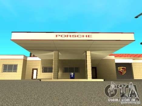Porsche garagem para GTA San Andreas segunda tela