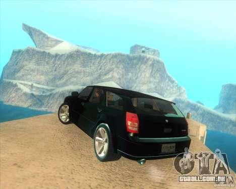 Dodge Magnum RT 2008 v.2.0 para GTA San Andreas esquerda vista