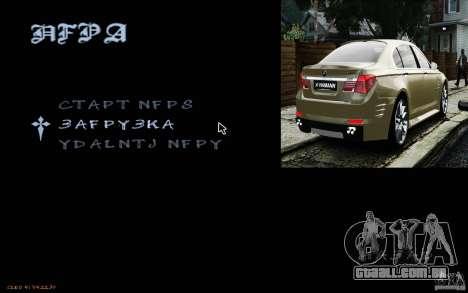 HUD do M0r1s para GTA San Andreas terceira tela