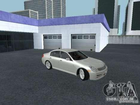 Nissan Skyline 300 GT para GTA San Andreas vista traseira