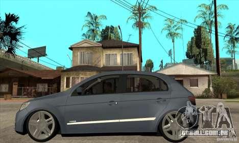 Volkswagen Gol G5 para GTA San Andreas esquerda vista