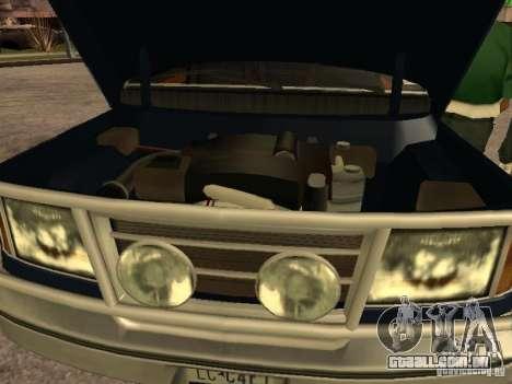 HD Columb para GTA San Andreas vista direita