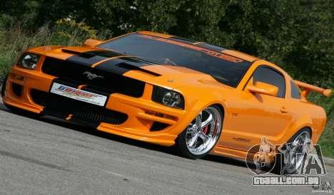 Telas de carregamento, no estilo do Ford Mustang para GTA San Andreas sétima tela