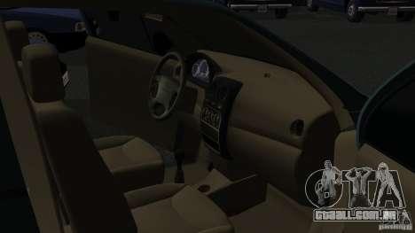Daewoo Matiz para GTA San Andreas vista traseira