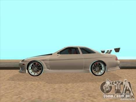 Toyota Soarer (JZZ30) para GTA San Andreas vista direita