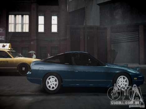 Nissan 240SX para GTA 4 traseira esquerda vista