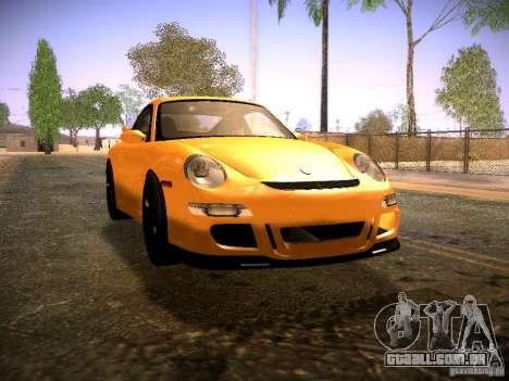 Porsche 911 para GTA San Andreas traseira esquerda vista