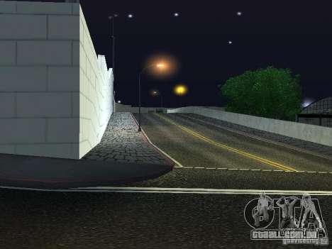 Carros novos de Wang Auto-salão de beleza para GTA San Andreas terceira tela