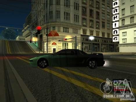 Teal Infernus para GTA San Andreas esquerda vista