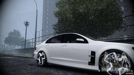 Holden HSV GTS para GTA 4 vista direita