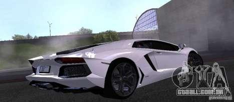 Lamborghini Aventador LP700-4 Final para GTA San Andreas esquerda vista