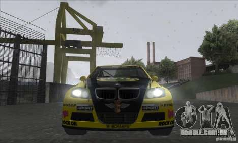 BMW 320i GRID para GTA San Andreas vista interior