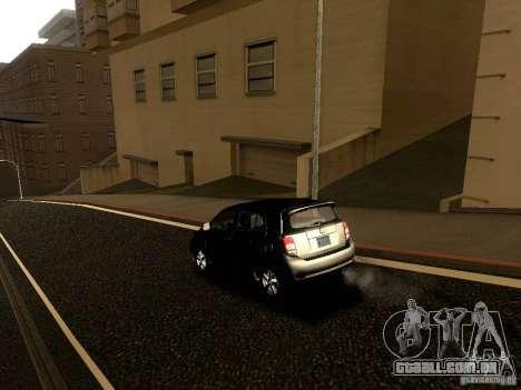 Scion xD para GTA San Andreas vista superior
