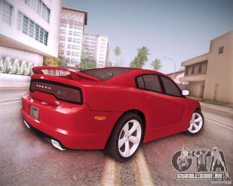 Dodge Charger 2011 v.2.0 para GTA San Andreas vista inferior