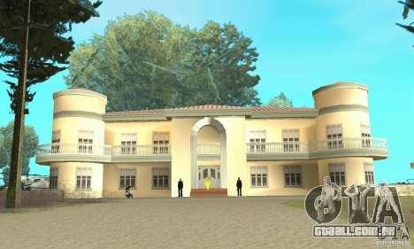 Uma Villa para GTA San Andreas terceira tela