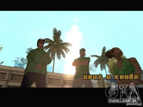 New Sweet, Smoke and Ryder v1.0 para GTA San Andreas oitavo tela