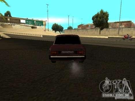 Vaz 21063 para GTA San Andreas vista direita