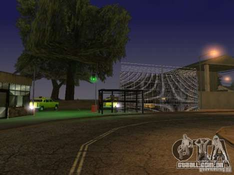 O primeiro táxi Parque versão 1.0 para GTA San Andreas quinto tela