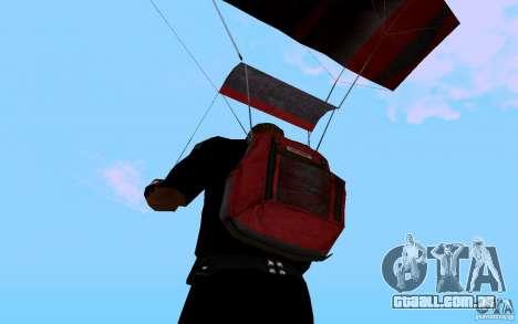 O novo pára-quedas para GTA San Andreas quinto tela