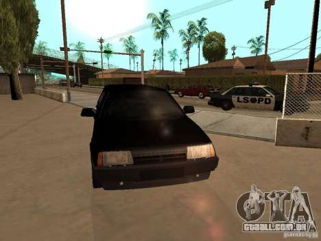 VAZ 21099 Limousine para GTA San Andreas vista interior
