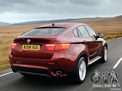 Telas de carregamento BMW X6 para GTA San Andreas por diante tela