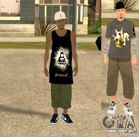 Cone Crew Skin para GTA San Andreas segunda tela