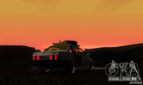 Olhar de rato 21099 VAZ para GTA San Andreas esquerda vista