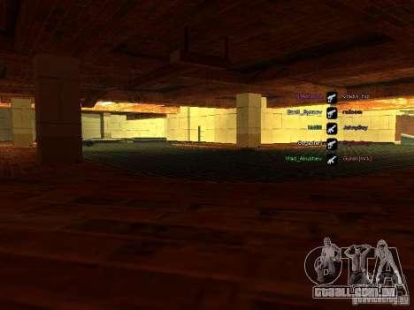 Nova garagem para a polícia de São Francisco para GTA San Andreas segunda tela