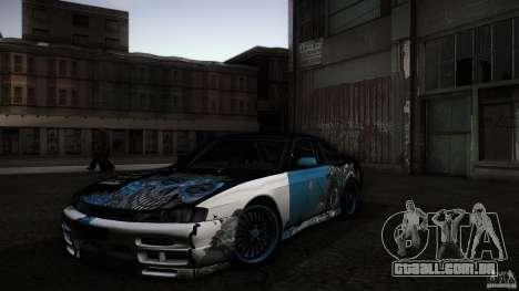 Nissan Silvia S14 NoNgrata para vista lateral GTA San Andreas