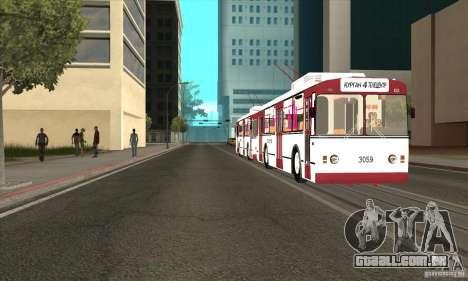 ZiU 682G para GTA San Andreas vista direita