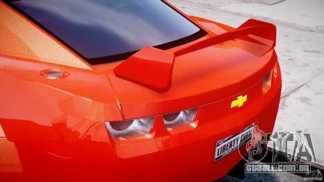 Chevrolet Camaro 2009 para GTA 4 rodas