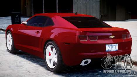 Chevrolet Camaro SS 2009 v2.0 para GTA 4 vista direita