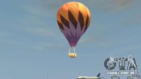Balloon Tours option 1 para GTA 4 esquerda vista