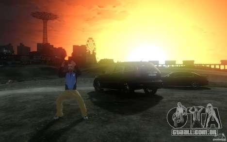 Telas de menu e inicialização de Liberty City em para GTA San Andreas oitavo tela