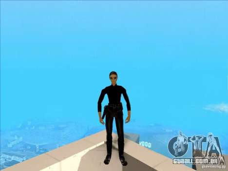 Matrix Skin Pack para GTA San Andreas terceira tela